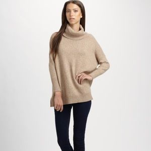 Joie Cashmere Wool Clover Turtleneck Size Small